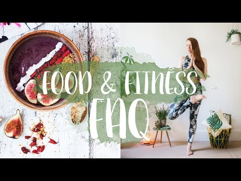 FOOD & FITNESS FAQ: Vegane Ernährung, Sportroutine & Co