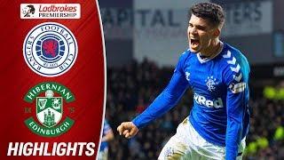Rangers 2-1 Hibernian | Ianis Hagi Scores to Complete Dramatic Comeback! | Ladbrokes Premiership