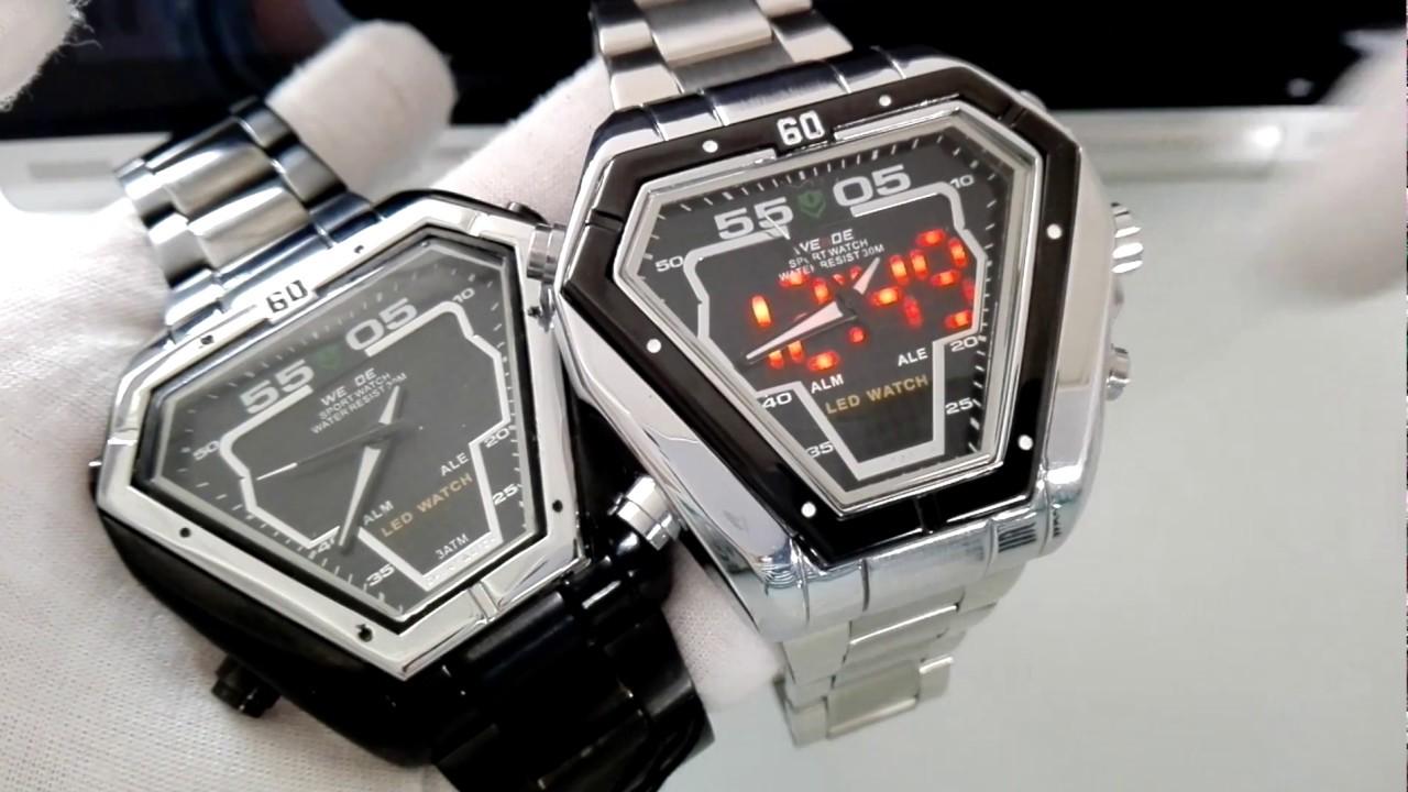 Elegans.cz  Pánské hodinky Weide   Unboxing Weide WH1102 watches ... f5b564fd598