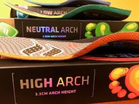 Sof Sole Fit Arch Support System - YouTube
