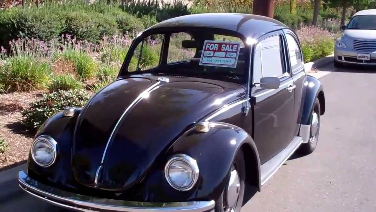 1969 VW Super Beetle For Sale or Trade! - YouTube