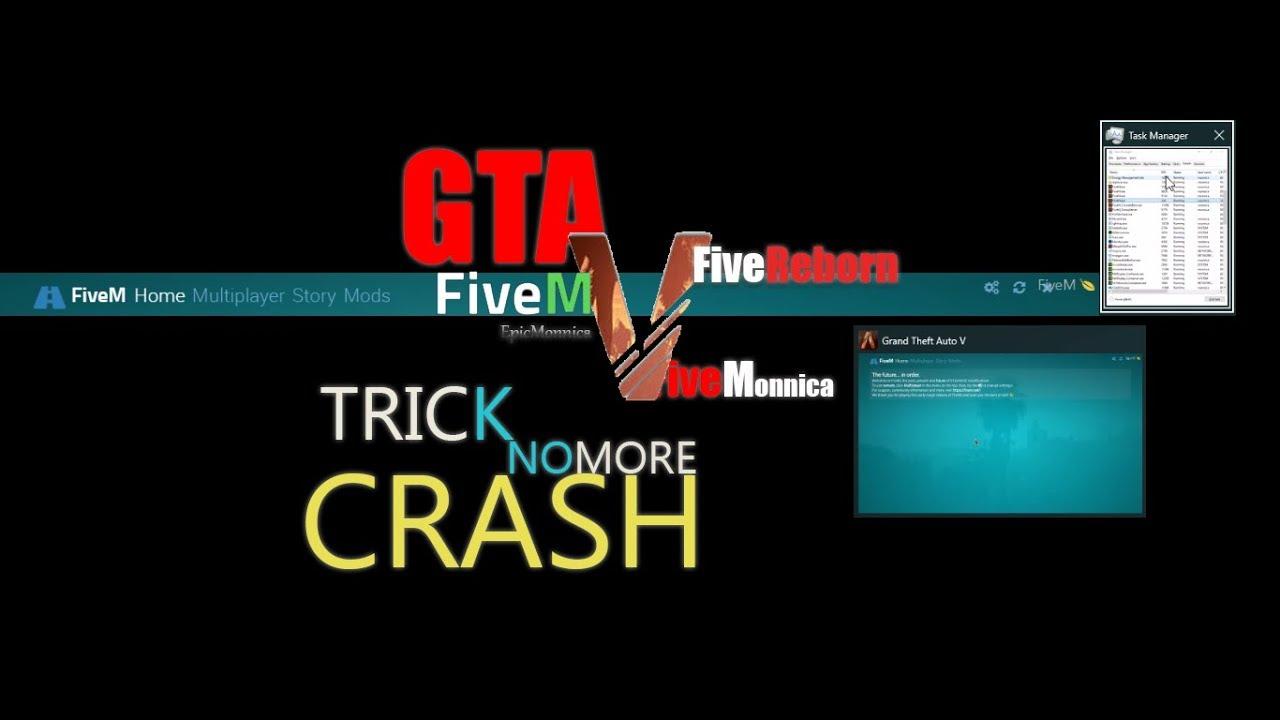 ❤️ GTA 5 : FiveM and Reborn Fix Crash Boot Start-Up