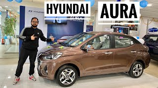 Hyundai AURA Most Detailed Video | 2020 Hyundai AURA Interior | Hyundai AURA Features | Musafir Aka