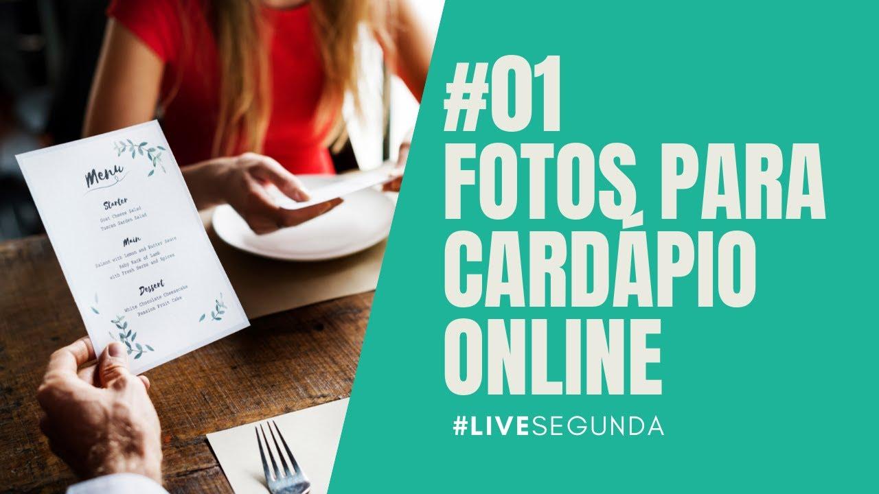Live #01: Fotos para Cardápio Online