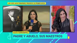 En vivo desde la presentación del disco de Alex Fernández | De Primera Mano