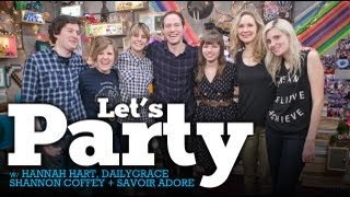 Let's PARTY Live w/ DailyGrace, Beth in Show, Hannah Hart, & CoffeyChat - 1/16/13