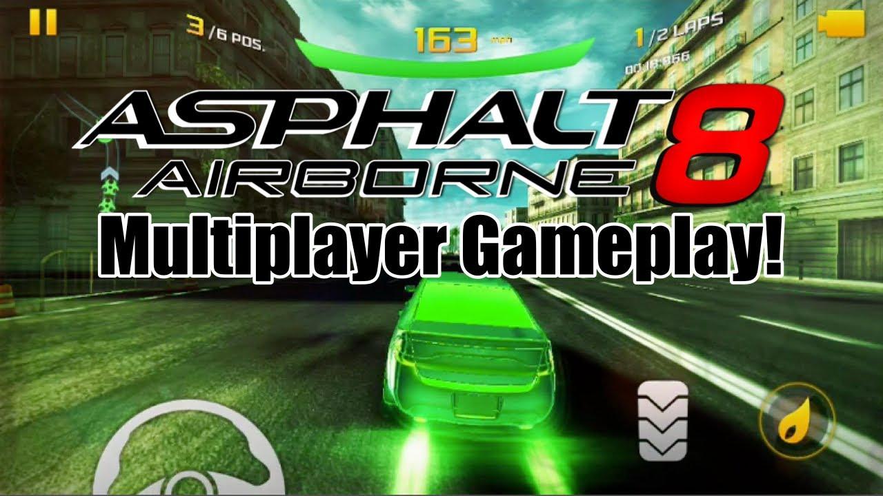 asfalt 8 multiplayer)
