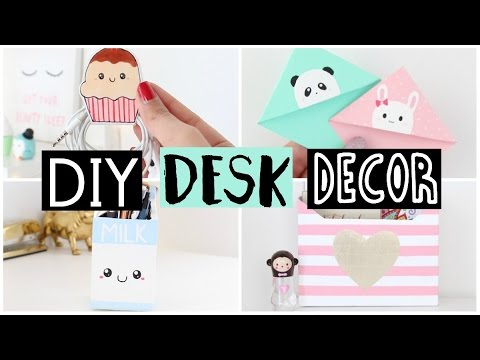 Diy Desk Decor Organization Ideas