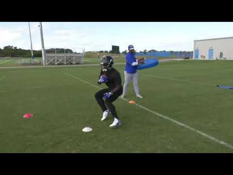 Christian Wade NFL training Part Two