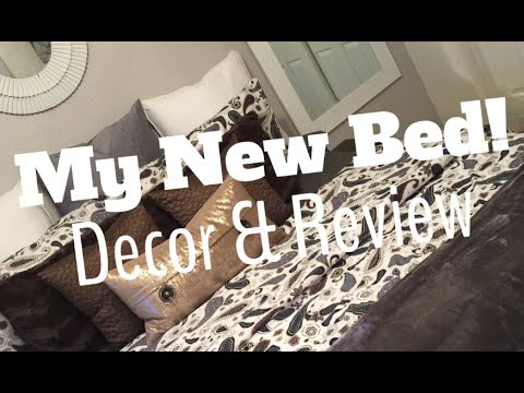 my new bed: helix, decor & review! - youtube