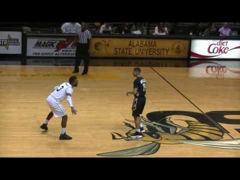 Alabama State Men`s Basketball Defeats UAPB In Montgomery