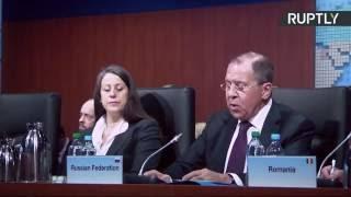 Сергей Лавров принимает участие в первом пленарном заседании СМИД ОБСЕ