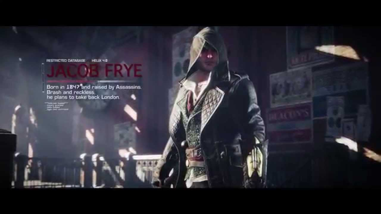 Assassin S Creed Syndicate Jacob Frye Trailer Youtube