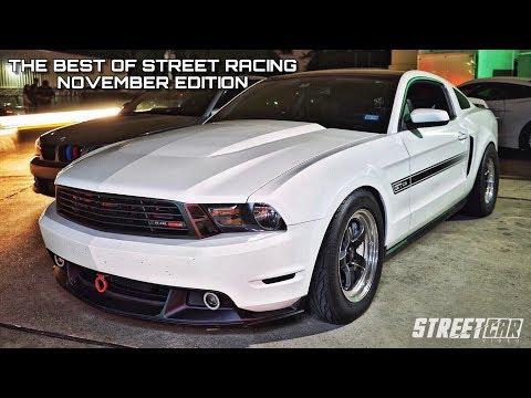 Turbo Mustang vs 800hp ZR1 + McLaren 720S & Turbo Truck! Best of Street Racing - November's Top 10
