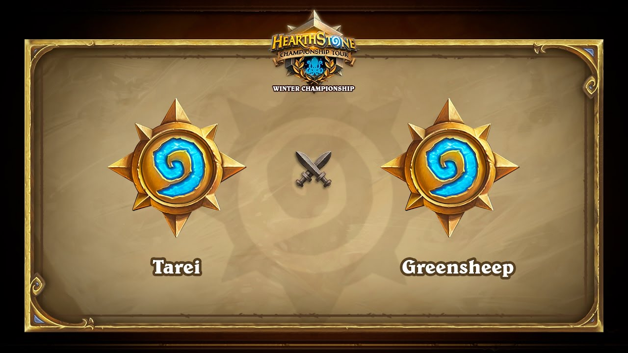 Tarei vs Greensheep, Hearthstone Winter Championship, Group D