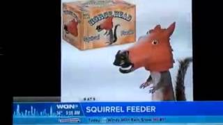 Horsehead Squirrel Feeder