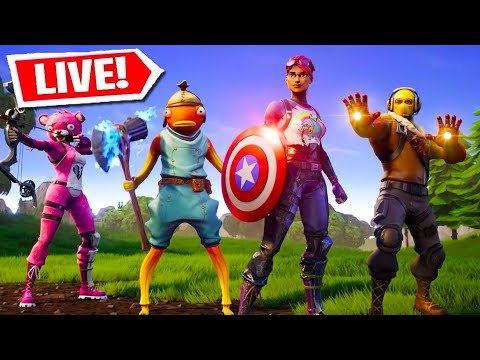 *NEW* FORTNITE AVENGERS GAMEPLAY UPDATE! AVENGERS ENDGAME EVENT! (Fortnite Battle Royale LIVE)