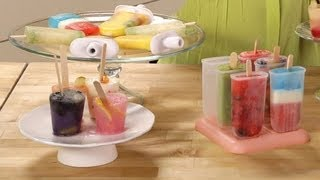 Homemade Fresh Fruit Popsicles | Food How To | POPSUGAR Food
