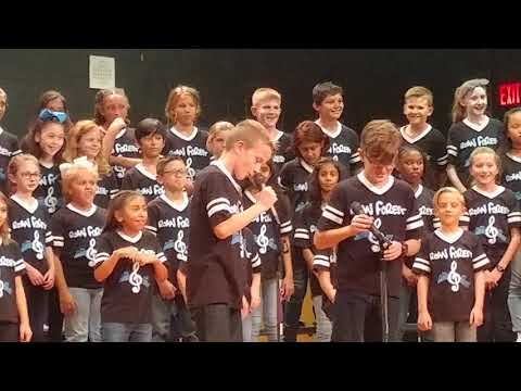 Roan Forest Elementary School fall Choir Concert