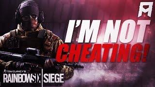 I Swear I'm Not CHEATING!! | Rainbow Six Siege Highlights - AnneMunition