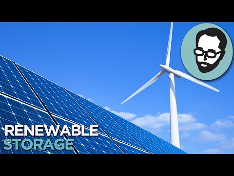 7 Ways To Store Renewable Energy | Answers With Joe