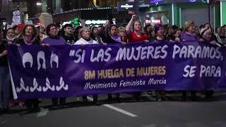 🎞 Resumen del #8M en Murcia 2018