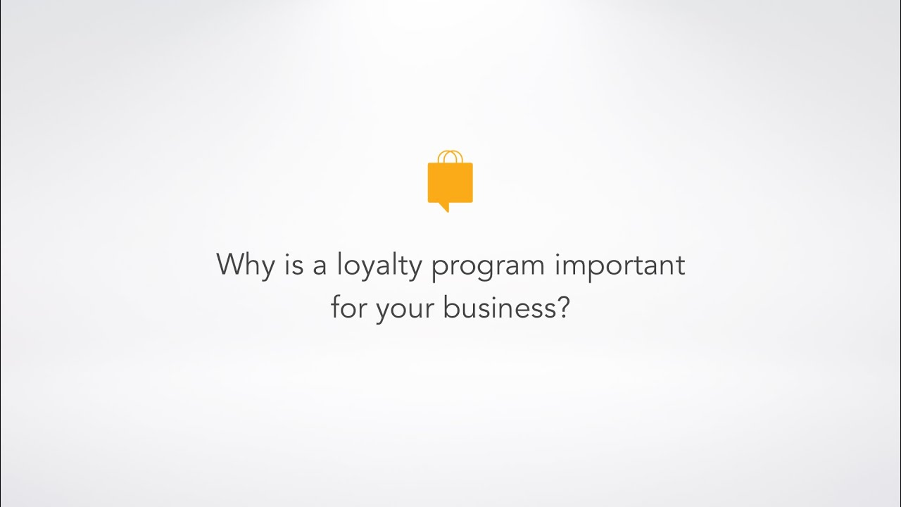 Why is a loyalty program important for a business youtube why is a loyalty program important for a business colourmoves