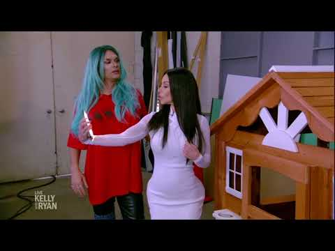 Live's Halloween 2017: Property Brothers Meet Kim and Kylie