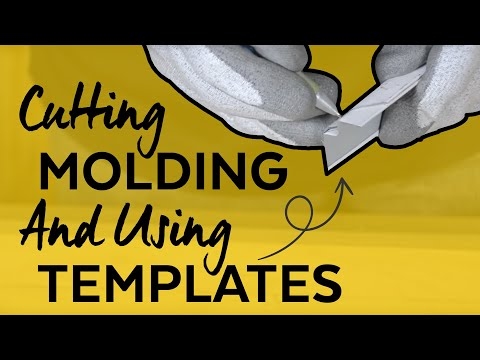 How to Cut Acoustical Shadow Molding