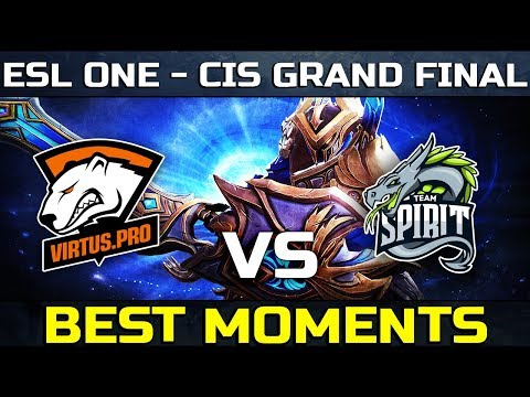 Virtus Pro vs Team Spirit - CIS GRAND FINAL - ESL ONE MAJOR Dota 2