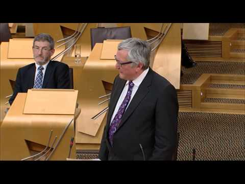 Afternoon Plenary - Scottish Parliament: 3rd September 2015