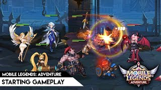 Mobile Legends: Adventure - Soft-launch starting gameplay