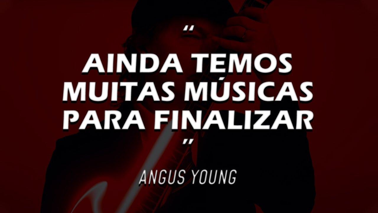 ANGUS YOUNG DIZ QUE AC/DC TEM UM BAÚ DE MÚSICAS PARA FINALIZAR