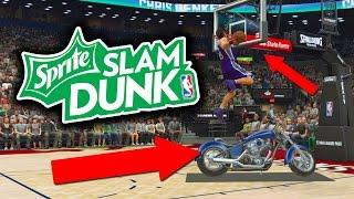 nba 2k17 slam dunk contest holy sh t all star dunk contest
