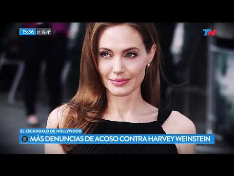 Las actrices de Hollywood y sus denuncias contra Harvey Weinstein