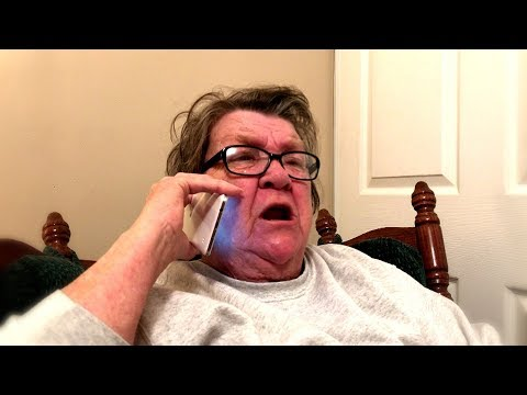 ANGRY GRANDMA CALLS GRANDDAUGHTER!