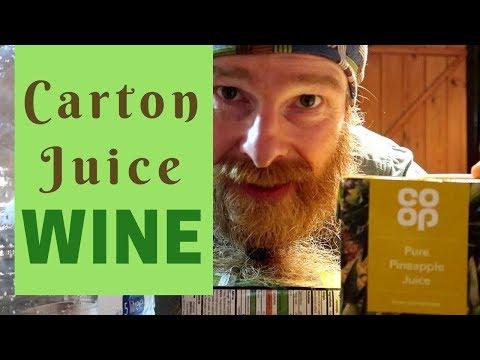 Pineapple Wine - Made With NO Wine Making Equipment!