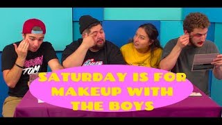 Extreme Makeup Looks With the React Boys! (Goth, Drag, Barbie)