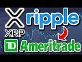 TD Ameritrade to Use Ripple XRP for Cross Boarder Payments?