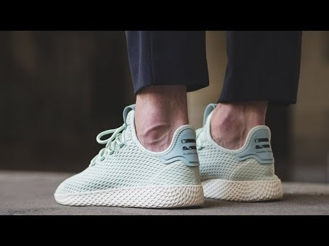 3fa9eff9fc735 Unboxing Review sneakers Adidas Pharrell Williams Tennis HU CP9765 ...