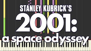 2001: A Space Odyssey Theme (Synthesia)