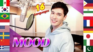 Mood (24kGoldn) 1 Guy Singing in 16 Different Languages - Cover by Travys Kim