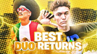 BEST DUO RETURNS TO NBA 2K20 - HANKDATANK + HOLLYWOOD BEST UNDEFEATED DUO EVER