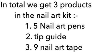 BEST QUALITY + AFFORDABLE Nail art kit by AMAZON