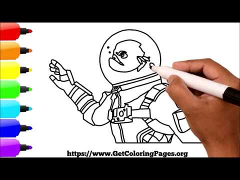 How to Draw Fortnite Leviathan Skin