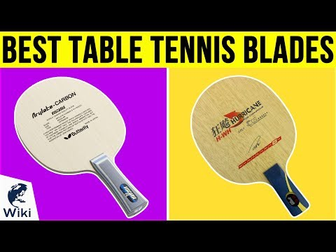 10 Best Table Tennis Blades 2019