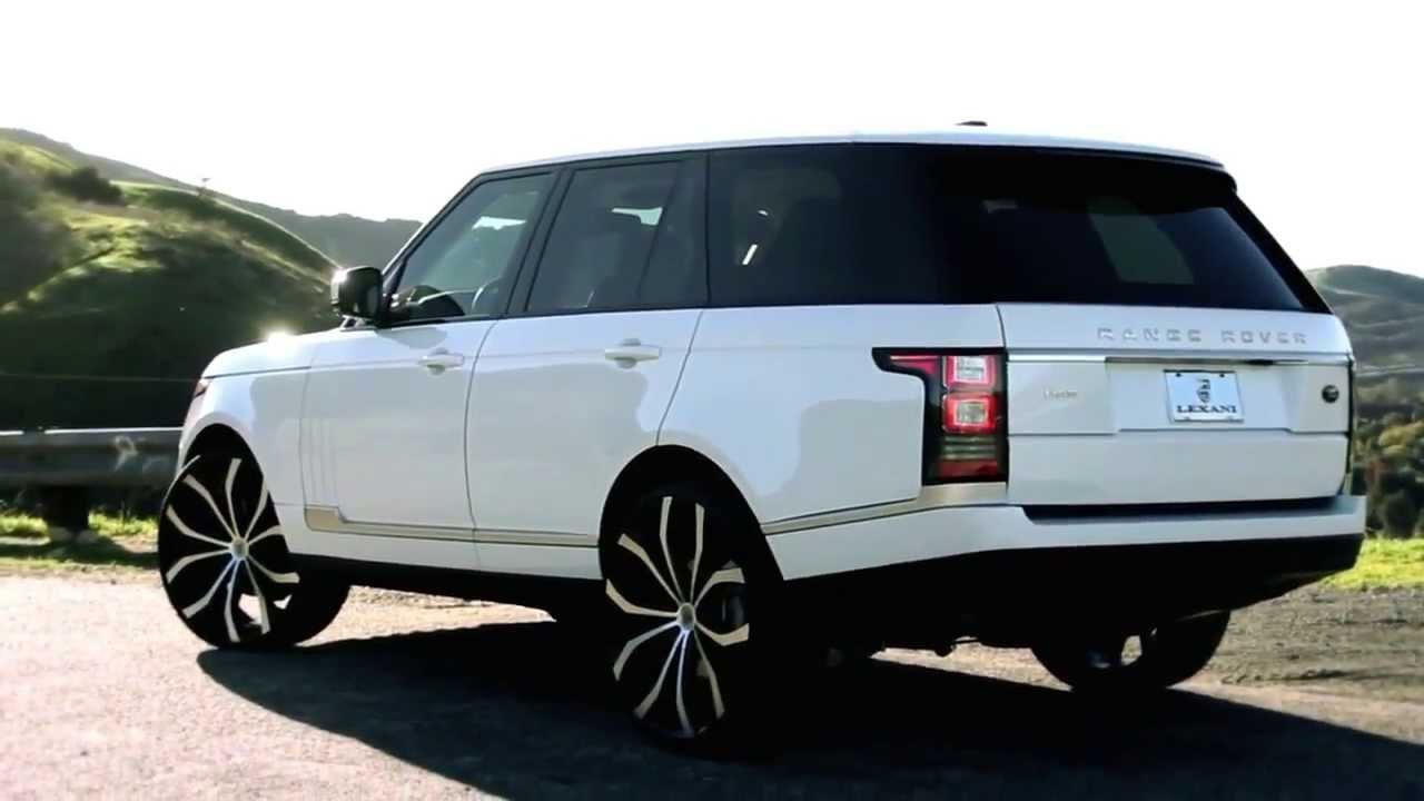 Range Rover Vs Land Rover >> Range Rover Vogue 2013 & Lexani - YouTube
