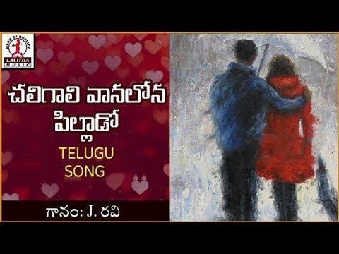 Popular Telugu Folk Songs | Chali Gaali Vaana Lona Telugu Song | Lalitha Audios And Videos