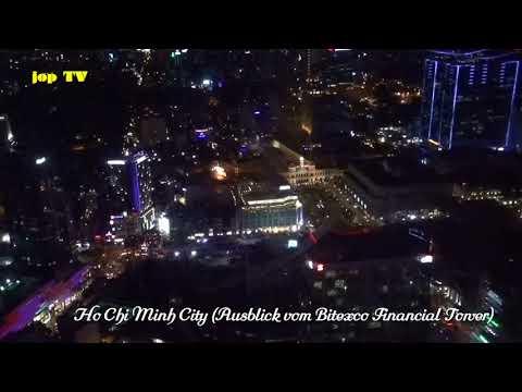 Ausblick vom Bitexco Financial Tower Ho Chi Minh City Vietnam Vacation Travel Guide HD jop TV