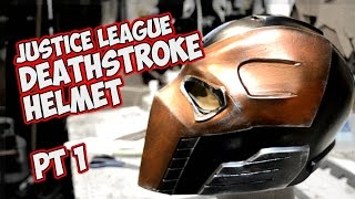 Deathstroke Justice League how to make a foam mask / helmet pt. 1